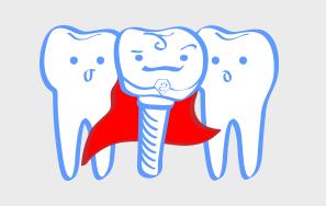 Los implantes son el modo más fisiológico y conservador de reponer los dientes perdidos
